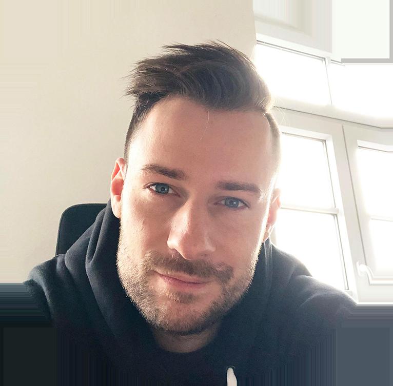 Headshot Image of Tim Kock, Shopify App Content Creator