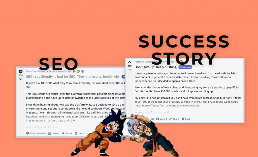 The combination of SEO and a Success Story is a SEO success story